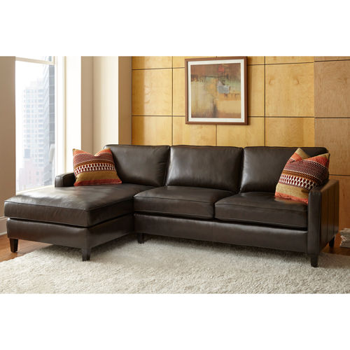 Stylish Leather Couch With Chaise Really Appealing Bold Concepts Leather Sectional With Chaise