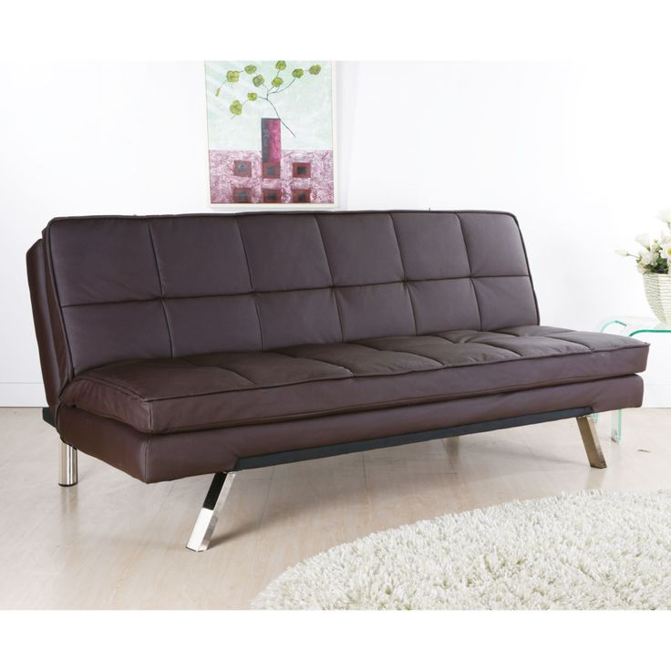 Stylish Leather Double Sofa Bed 17 Best Leather Chair Sofa Beds Images On Pinterest Leather