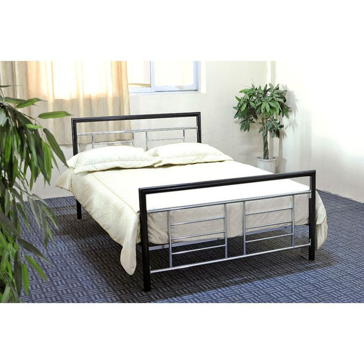 Stylish Metal Bed Frame With Headboard And Footboard Twin Modern Metal Platform Bed With Headboard And Footboard In