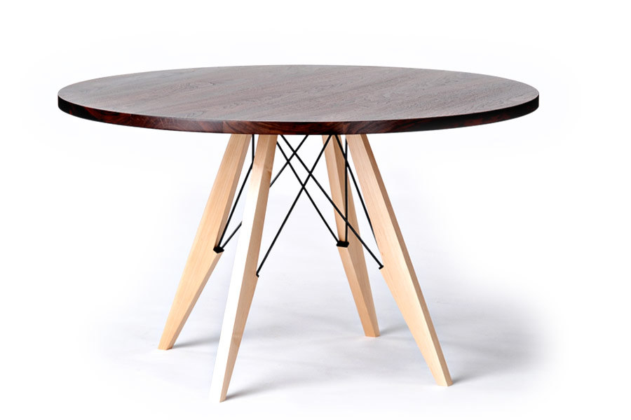 Stylish Modern Round Wood Dining Table Dining Table Elegant Dining Room Tables Oval Dining Table In