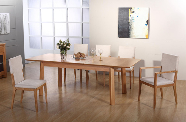 Stylish Modern Wood Dining Table Download Modern Wood Dining Room Sets Gen4congress