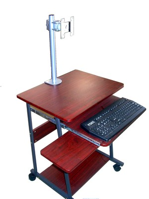 Stylish Narrow Computer Desk Sts5806 Mini Computer Desk Table