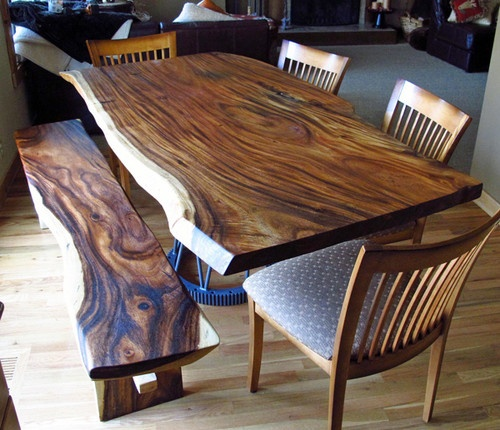 Stylish Natural Wood Kitchen Chairs 221 Best Cool Wooden Slab Furniture Too Images On Pinterest