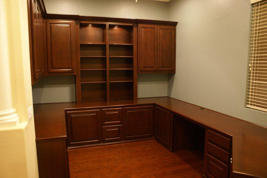 Stylish Office Desk And Cabinets Home Office Desk Cabinets Furniture And Library Shelves