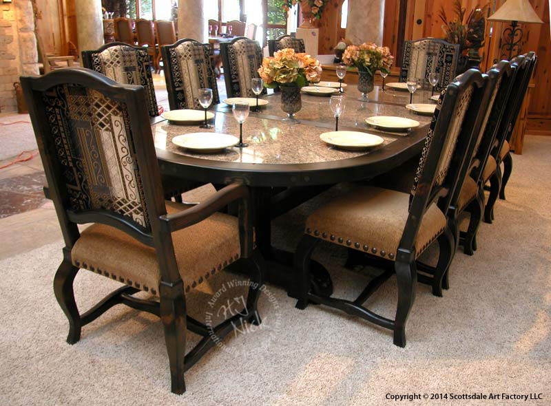 Stylish Oval Dining Room Table Dining Tables Brilliant Custom Dining Room Tables Designs Outdoor