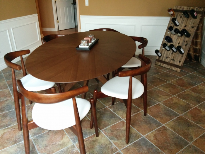 Stylish Oval Dining Table Starburst Oval Dining Table