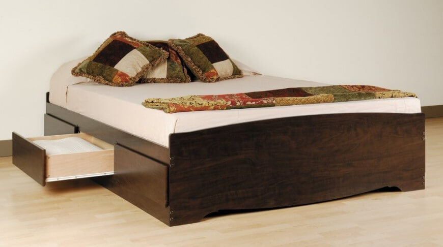 Stylish Queen Bed With Bed Underneath 25 Incredible Queen Sized Beds With Storage Drawers Underneath