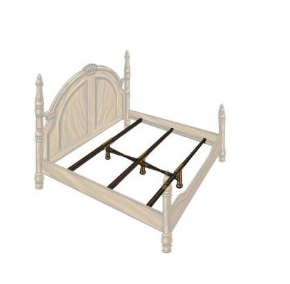 Stylish Queen Mattress Support Slats Steel Bed Slats Replace Your Wood Bed Slats Add Strength