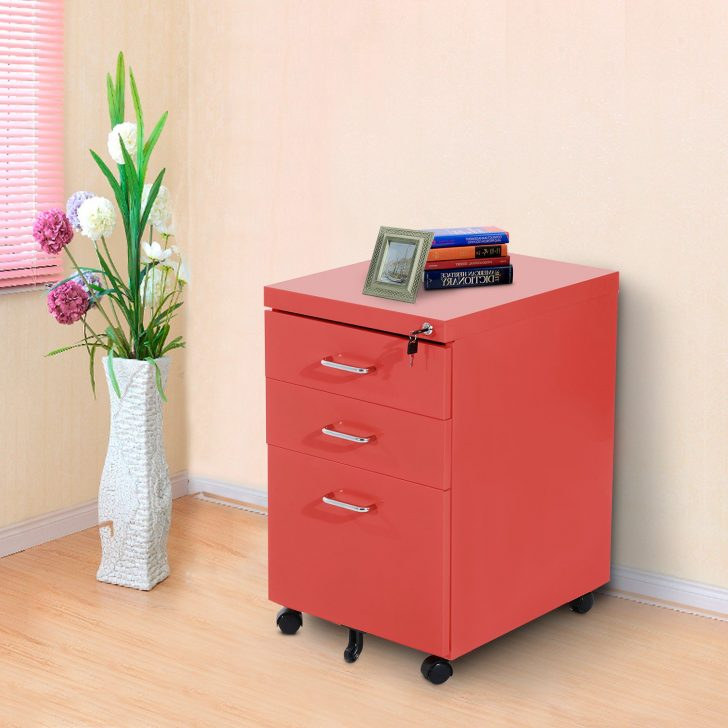Stylish Red Filing Cabinet Wheels For Metal File Cabinet Wallpaper Photos Hd Decpot