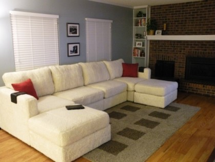 Stylish Sectional Sofa With 2 Chaises Double Chaise Sectional Yay Or Nay