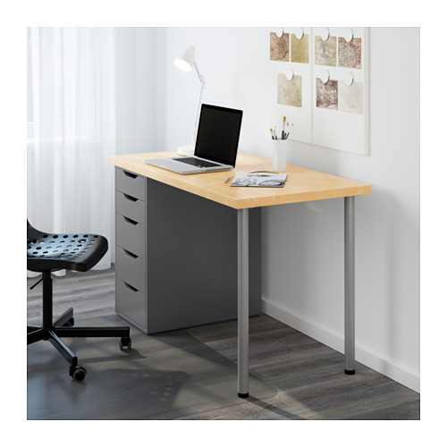 Stylish Small Desk With Drawers Ikea Alex Drawer Unit White Ikea