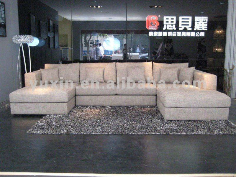 Stylish Sofa With Double Chaise Lounge Adorable Double Chaise Sofa With Double Chaise Lounge Living Room