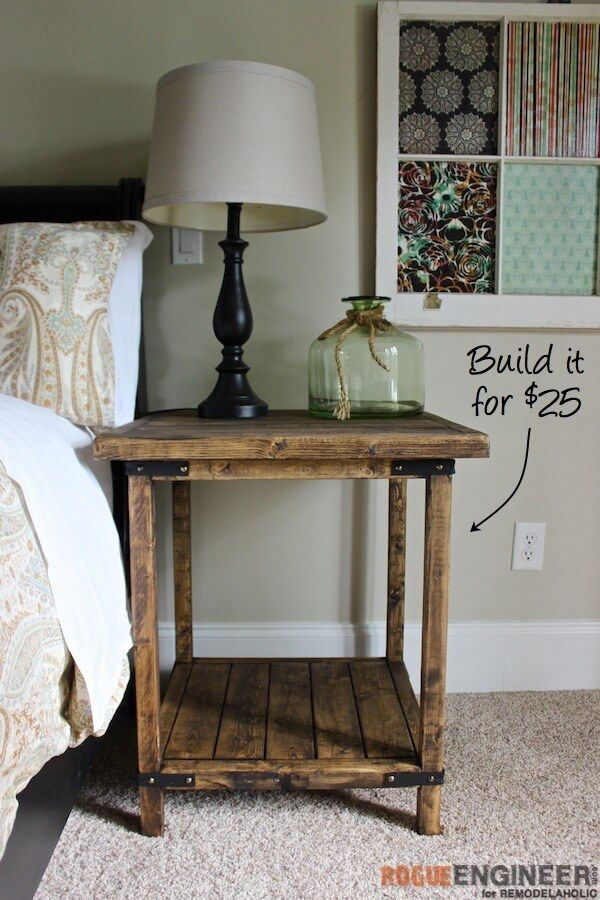 Stylish Tall Side Tables Bedroom Best 25 Diy Bedside Tables Ideas On Pinterest Night Stands Diy