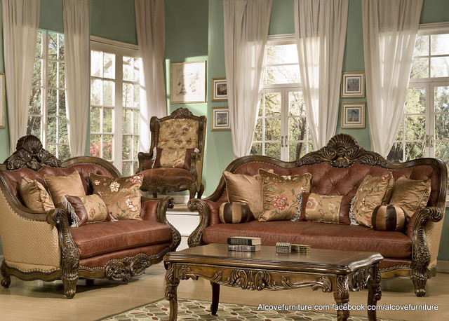 Stylish Traditional Living Room Sets Traditional Sofa Set For The Living Room Home Interior Design