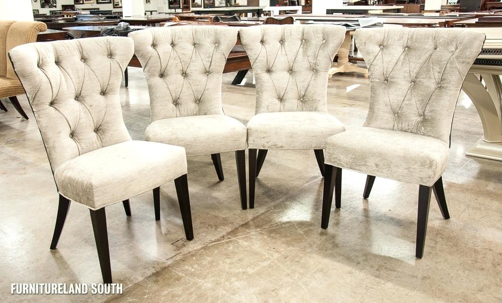 Stylish Tufted Leather Dining Room Chairs Tufted Leather Dining Room Chairs Sets White Nailhead Linen Sale