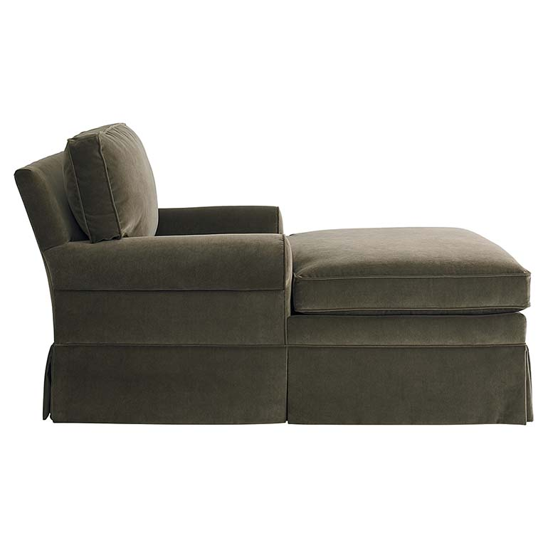Stylish Two Arm Chaise Lounge Chairs Allister Grande Two Arm Chaise