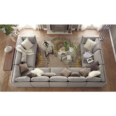 Stylish U Shaped Sectional Couch Best 25 U Shaped Sectional Ideas On Pinterest U Shaped Couch U