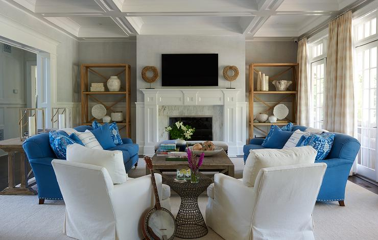 Stylish White Accent Chairs Living Room Furniture Brown Skirted Sofas And Gray Accent Chairs Transitional Living