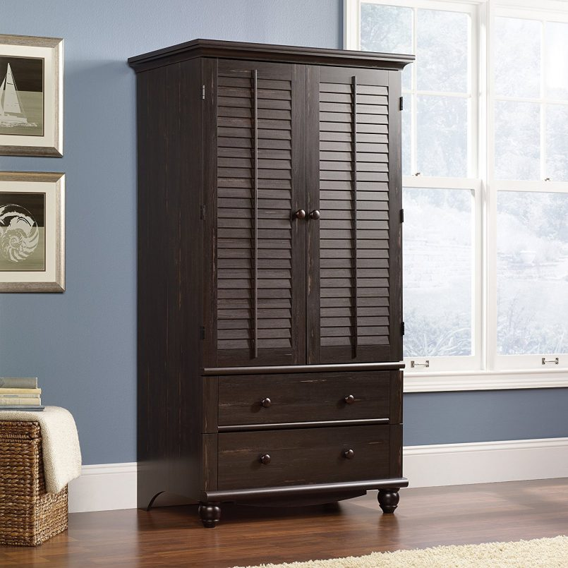 Stylish White Armoire With Drawers Bedroom Beautiful Closet Armoire Wardrobe Narrow Armoire