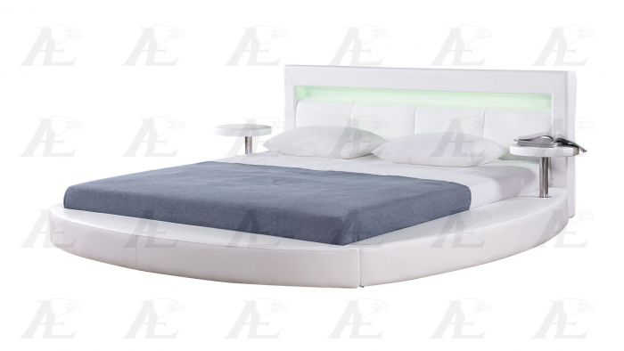 Stylish White California King Bed American Eagle B D029 Ck Modern White California King Bed