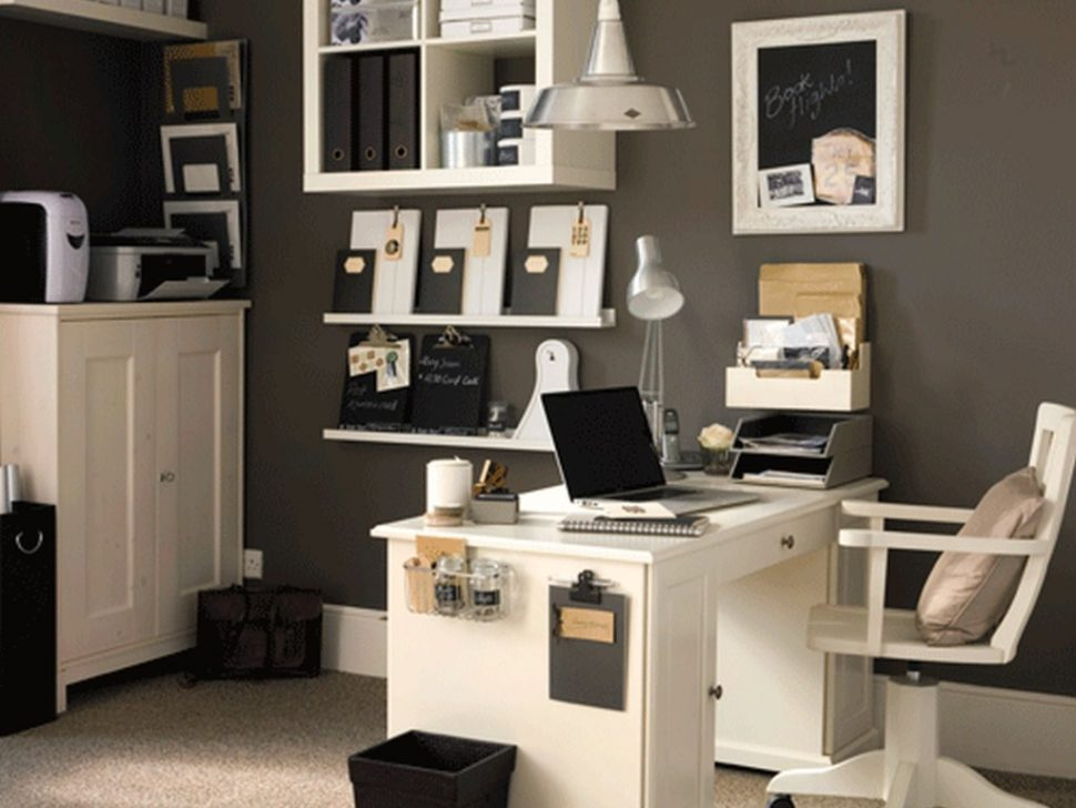 Stylish White Home Office Furniture Sets Office 41 Professional Office Decorating Ideas For Women