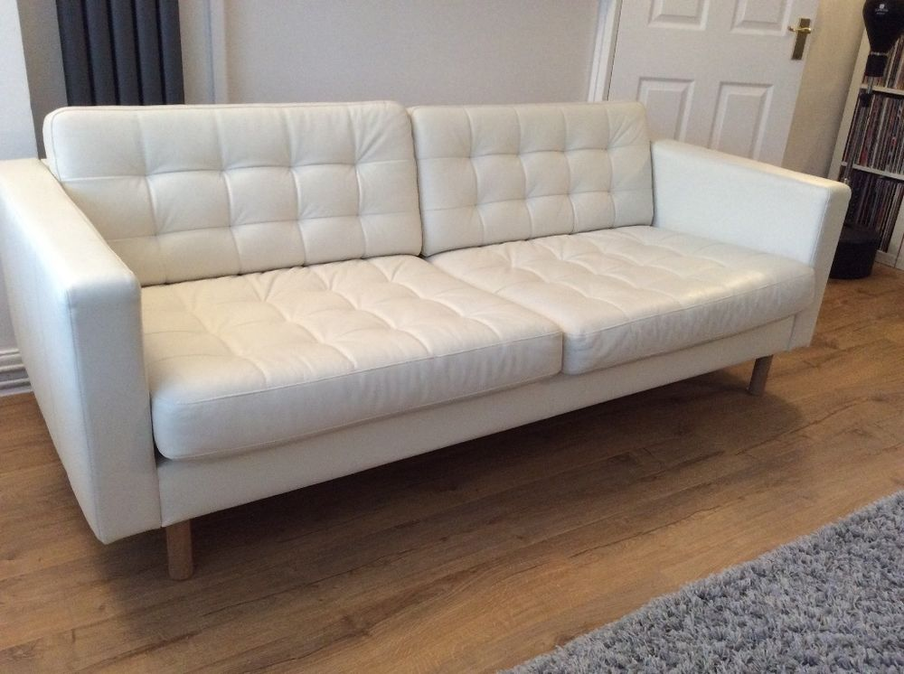 Stylish White Leather Sofa Bed Ikea Perfect White Leather Sofa Ikea Best Ideas About Ikea Leather Sofa
