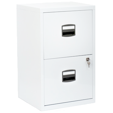 Stylish White Locking File Cabinet Bisley 2 Drawer Locking A4 Filing Cabinet Pfa2 White