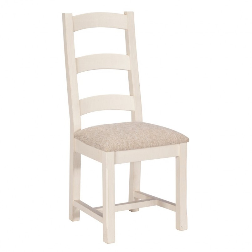 Stylish White Padded Dining Chairs Dining Room White Dining Chair Made Of Upholstered Combined With