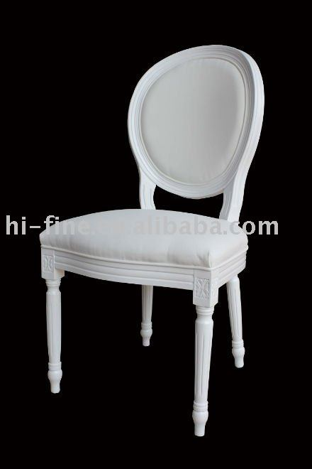 Stylish White Round Back Dining Chairs Wooden Louis Dining Chair Wood Chair White Wood Chair Round
