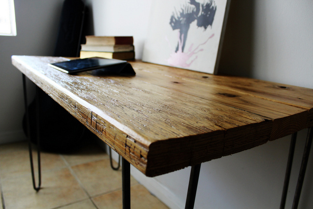 Stylish Wood Desk Designs Stylish Wood Desk Ideas Best Images About Reclaimed Wood Desk