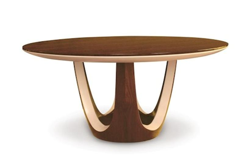Stylish Wood Dining Table Round Circle Wooden Dining Table Insurserviceonline