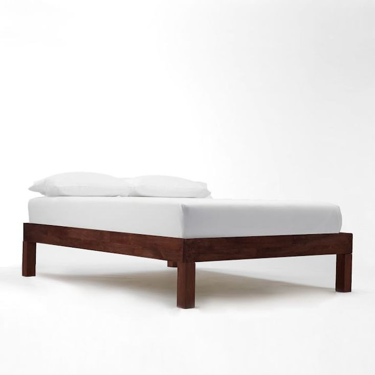 Stylish Wooden Bed Frame Without Headboard Unique Wood Bed Frames Without Headboard 26 For Reclaimed Wood