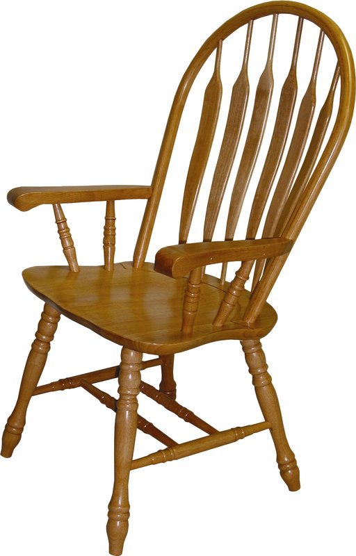 Stylish Wooden Dining Chairs With Arms Windsor Chairs Youll Love Wayfair
