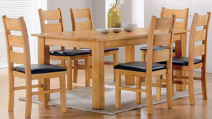 Stylish Wooden Dining Room Chairs Wood Dining Table Elegant