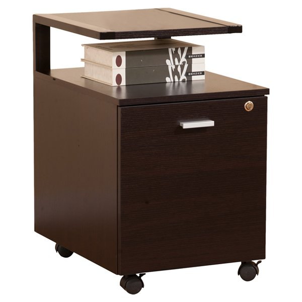 Unique 1 Drawer File Cabinet Hokku Designs 1 Drawer Modern Equipment Trolleyfile Cabinet