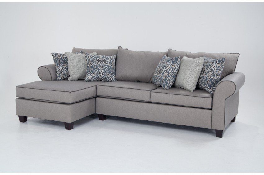 Unique 2 Arm Chaise Lounge Ashton 2 Piece Right Arm Facing Sectional Bobs Discount Furniture
