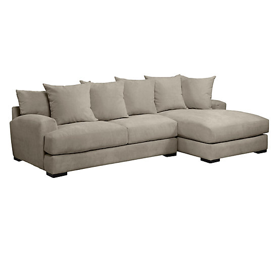 Unique 2 Arm Chaise Lounge Stella Sectional With Chaise Z Gallerie
