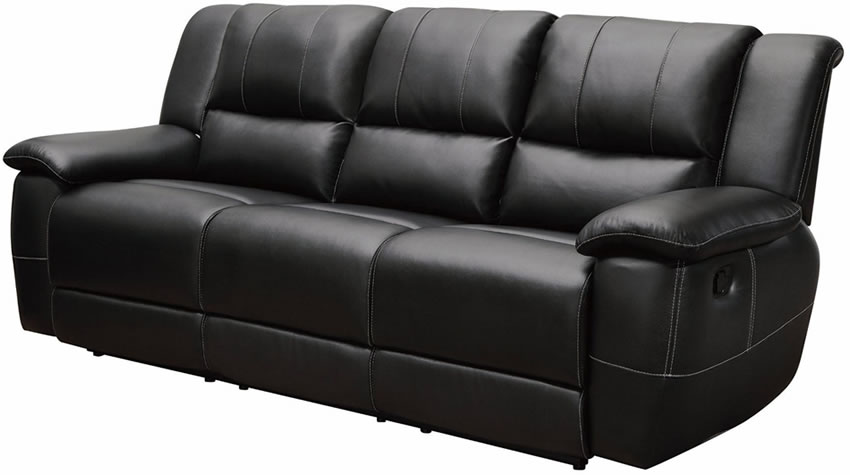 Unique Ashley Black Leather Reclining Sofa Stylish Black Leather Recliner Sofa Good Tips For Buying Recliner