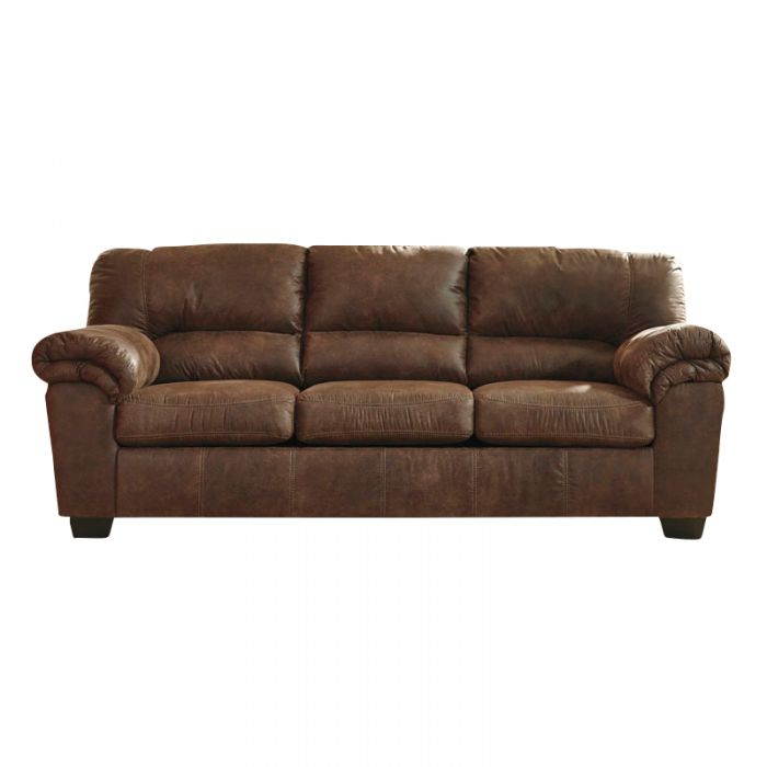 Unique Ashley Brown Leather Sofa Ashley Bladen Brown Padded Arm Faux Leather Sofa Weekends Only