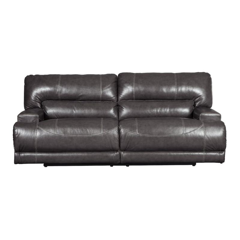 Unique Ashley Furniture Leather Recliners U6090081 Ashley Furniture Mccaskill 2 Seat Reclining Sofa