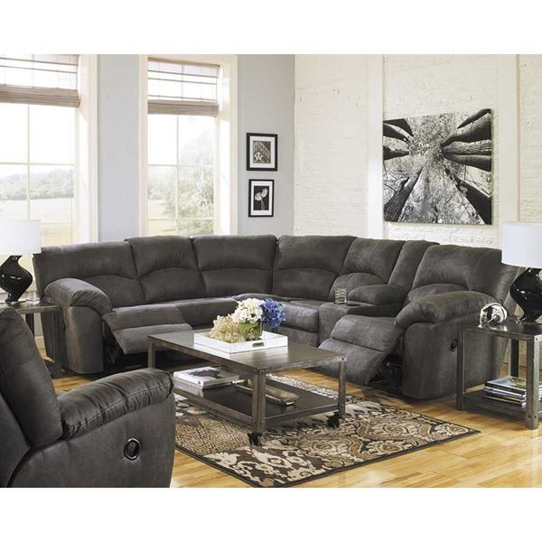 Unique Ashley Furniture Reclining Sectional 2pc Pewter Reclining Sectional 278014849 Ashley Furniture Afw