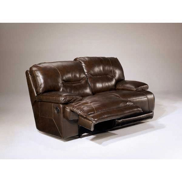 Unique Ashley Leather Reclining Loveseat Leather Power Reclining Loveseat C 424 Prl Ashley Furniture