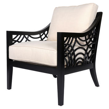 Unique Black And White Accent Chair Decoration In Black And White Accent Chair Best Black And White