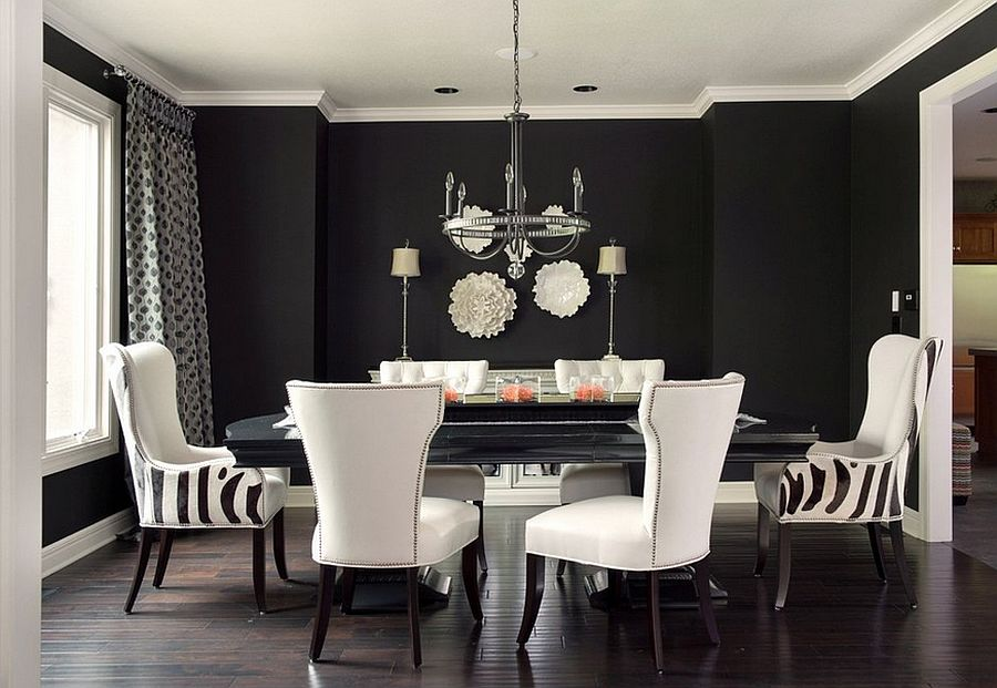 Unique Black And White Dining Chairs Chairs Astounding Black And White Dining Chairs Black And White