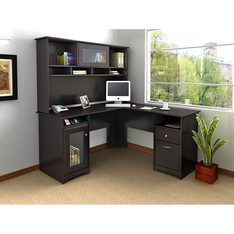 Unique Black L Shaped Desk Modern Black L Shaped Desk Black L Shaped Desk For Convenience