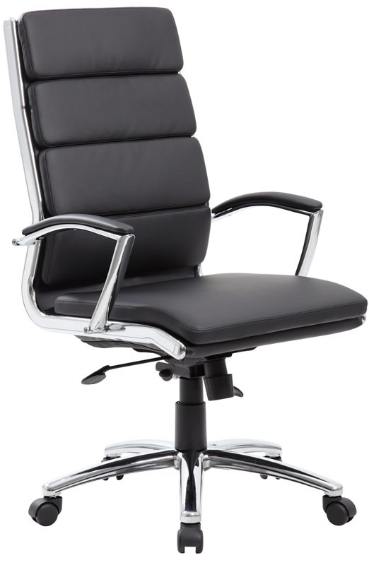 Unique Black Leather Office Chair Lovable Office Chair Leather With Boss Modern Leather Office Chair