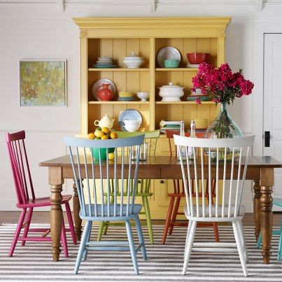 Unique Colorful Kitchen Chairs Best 25 Yellow Dining Room Ideas On Pinterest Yellow Walls