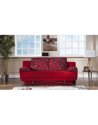 Unique Convertible Sofa Bed Queen Size Fantasy Queen Size Convertible Sofa Bed With Storage In Story Red
