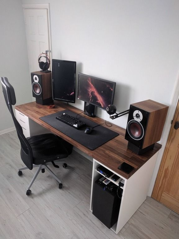 Unique Corner Pc Desk Diy Computer Desk Ideas Space Saving Awesome Picture Gaming