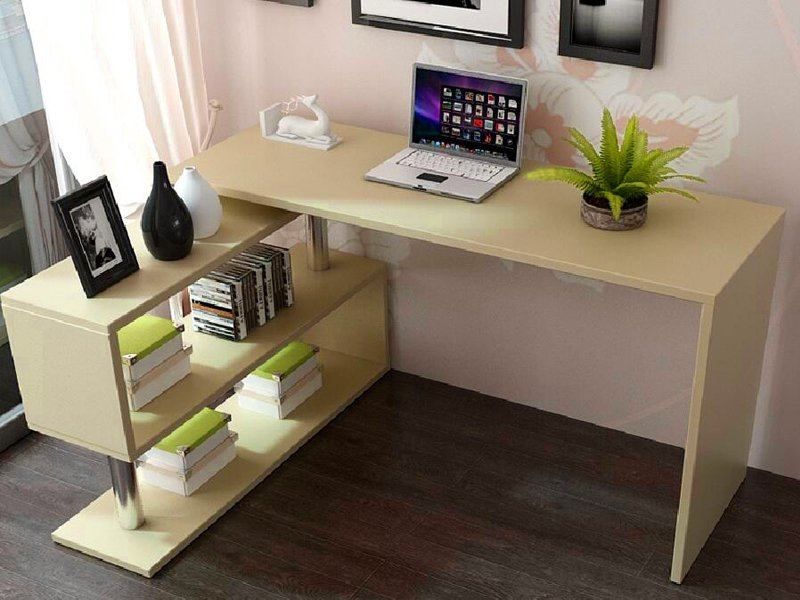 Unique Crazy Computer Desk 2 In 1 Rotatable Office Computer Desk Corner Table Crazy Sales